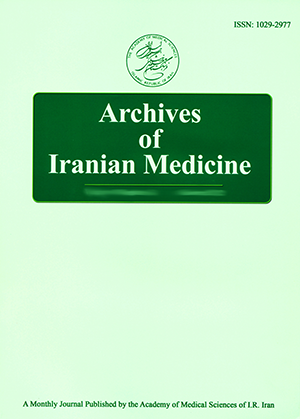 Home | Archives of Iranian Medicine